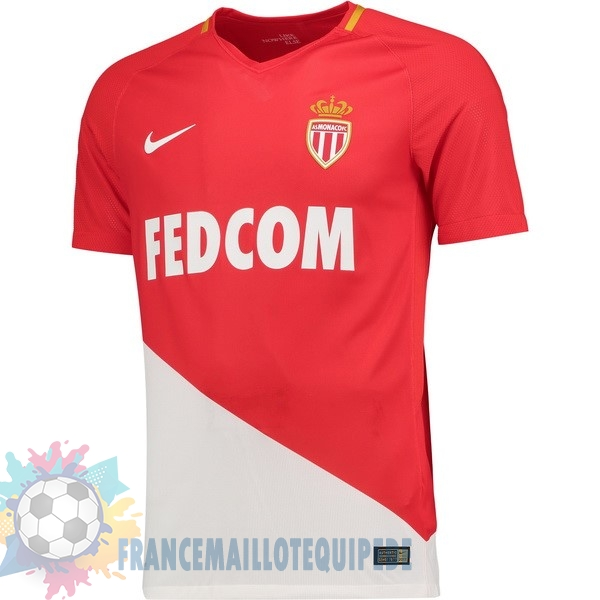 Magasin De Foot Nike Domicile Maillots AS Monaco 2017 2018 Rouge