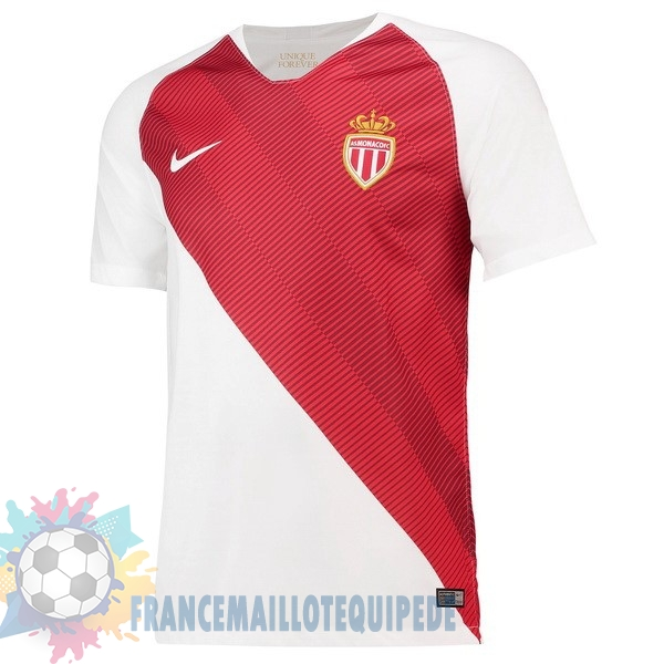 Magasin De Foot Nike Domicile Maillots AS Monaco 2018 2019 Blanc