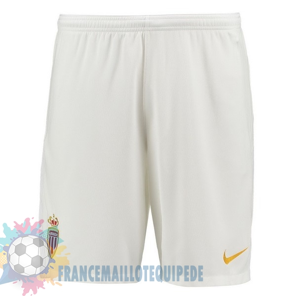 Magasin De Foot Nike Domicile Shorts AS Monaco 2017 2018 Blanc