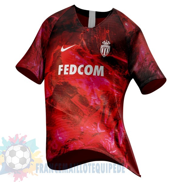 Magasin De Foot Nike Ea Sport Maillot As Monaco 2018 2019 Rouge
