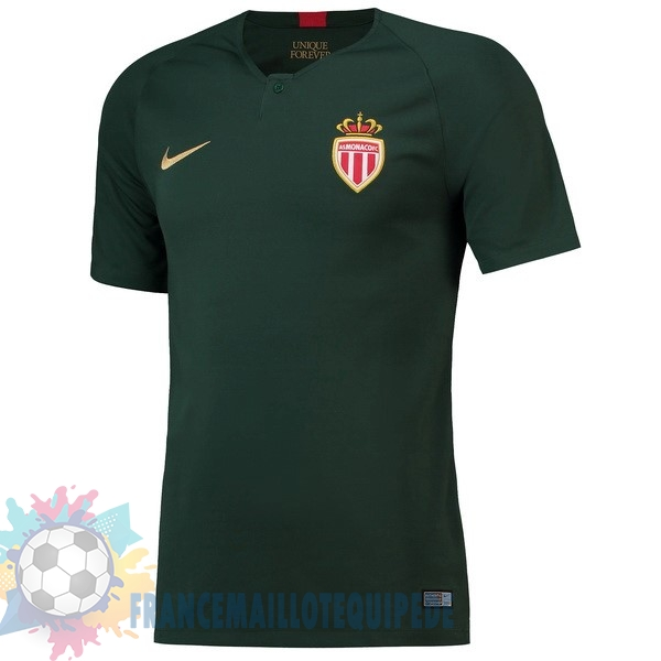 Magasin De Foot Nike Exterieur Maillots AS Monaco 2018 2019 Vert