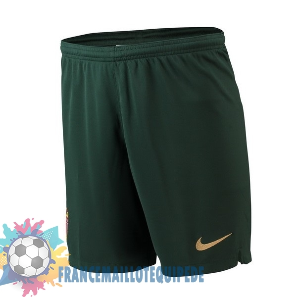 Magasin De Foot Nike Exterieur Shorts AS Monaco 2018-2019 Vert