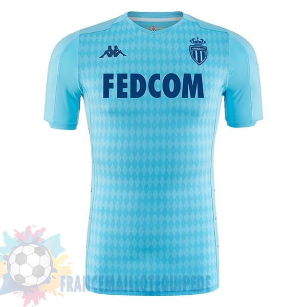 Magasin De Foot Kappa Third Maillot AS Monaco 2019 2020 Bleu Clair