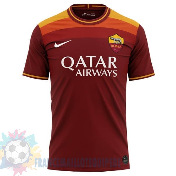 Magasin De Foot Nike Concept Domicile Maillot Roma 2020 2021 Orange