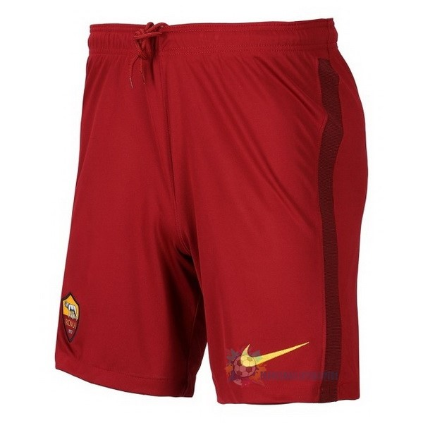 Magasin De Foot Nike Domicile Pantalon As Roma 2020 2021 Rouge