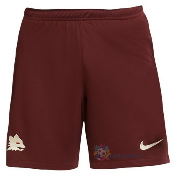 Magasin De Foot Nike Exterieur Pantalon As Roma 2020 2021 Rouge