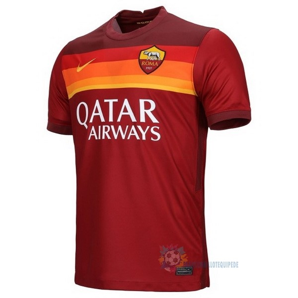 Magasin De Foot Nike Thailande Domicile Maillot As Roma 2020 2021 Rouge