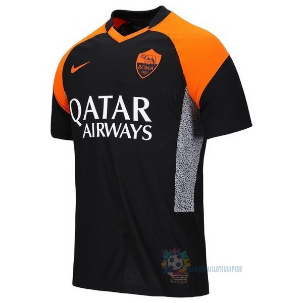 Magasin De Foot Nike Thailande Third Maillot As Roma 2020 2021 Noir