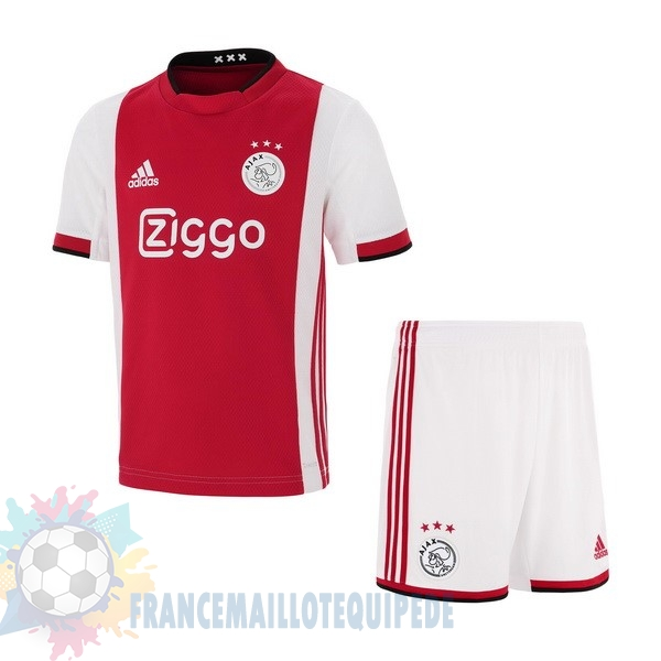 Magasin De Foot adidas Domicile Ensemble Enfant Ajax 2019 2020 Rouge