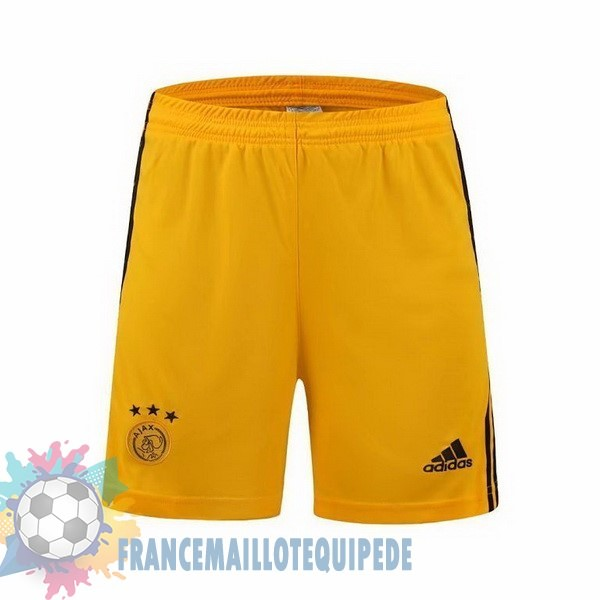 Magasin De Foot adidas Domicile Pantalon Gardien Ajax 2019 2020 Jaune