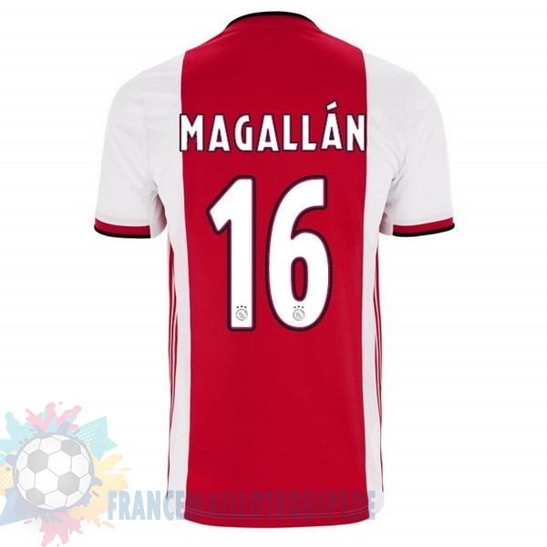 Magasin De Foot adidas NO.16 Magallan Domicile Maillot Ajax 2019 2020 Rouge