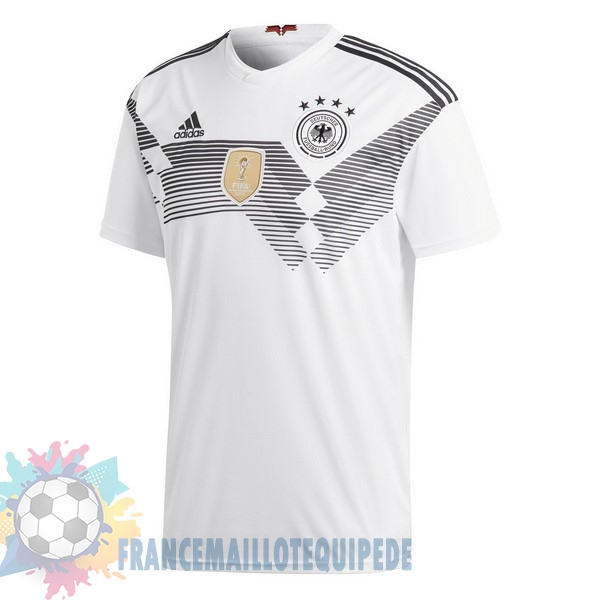 Magasin De Foot adidas Domicile Maillots Allemagne 2018 Blanc