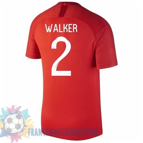 Magasin De Foot Nike NO.2 Walker Exterieur Maillots Angleterre 2018 Rouge