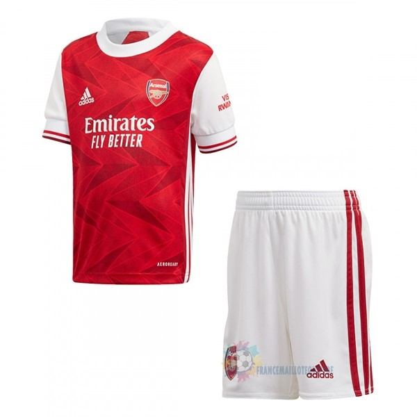 Magasin De Foot adidas Domicile Conjunto De Enfant Arsenal 2020 2021 Rouge