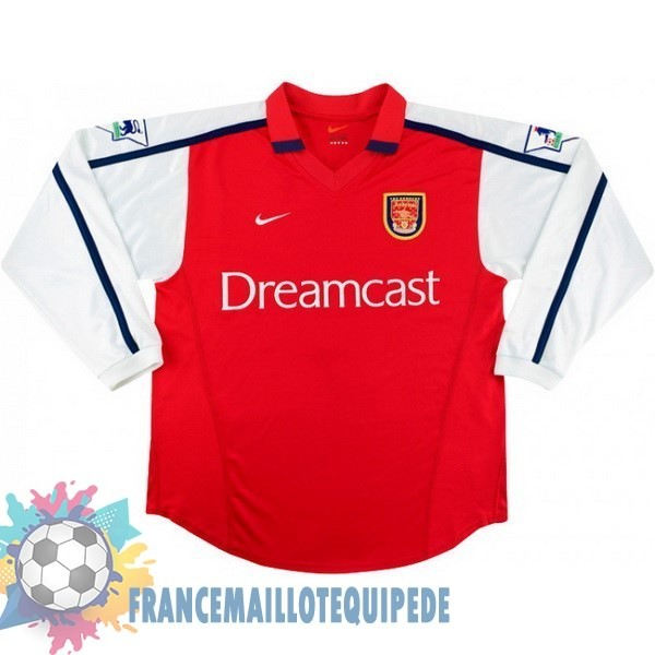 Magasin De Foot Nike DomiChili Manches Longues Arsenal Vintage 2000 Rouge
