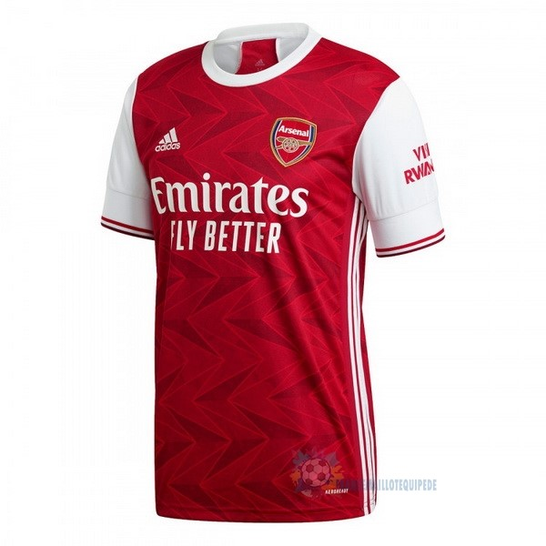 Magasin De Foot adidas Thailande Domicile Maillot Arsenal 2020 2021 Rouge