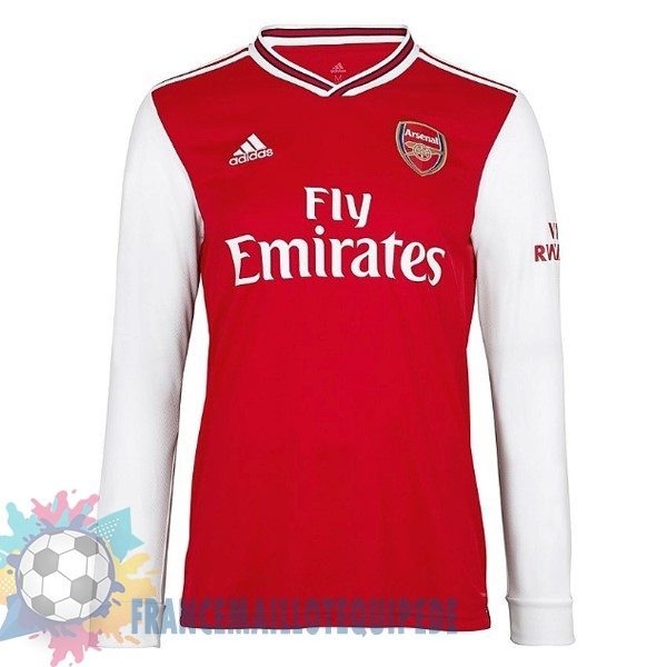 Magasin De Foot adidas Domicile Manches Longues Arsenal 2019 2020 Rouge