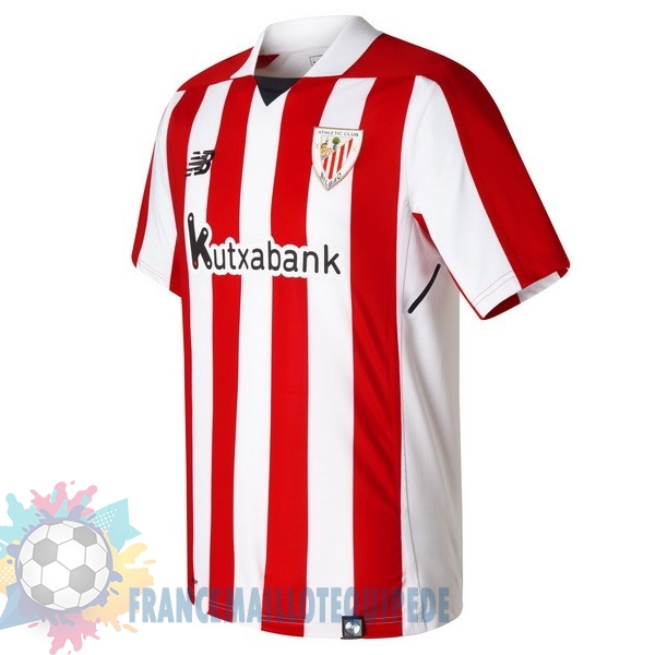 Magasin De Foot New Balance Domicile Maillots Athletic Bilbao 2017 2018 Rouge Blanc