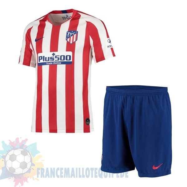 Magasin De Foot Nike Domicile Ensemble Enfant Atlético Madrid 2019 2020 Rouge