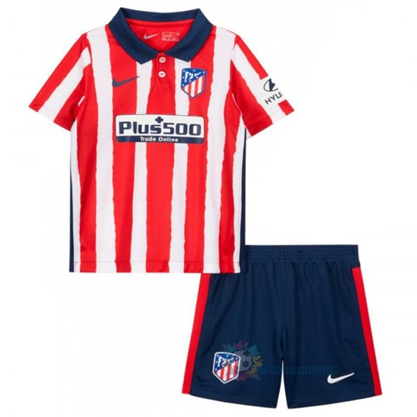 Magasin De Foot Nike Domicile Conjunto De Enfant Atlético Madrid 2020 2021 Rouge