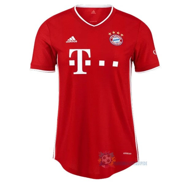 Magasin De Foot adidas Domicile Maillot Mujer Bayern Munich 2020 2021 Rouge