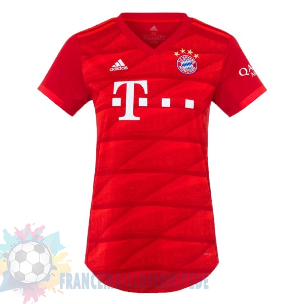 Magasin De Foot adidas Domicile Maillot Femme Bayern Munich 2019 2020 Rouge