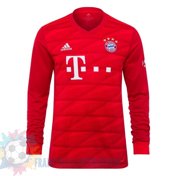 Magasin De Foot adidas Domicile Manches Longues Bayern Munich 2019 2020 Rouge