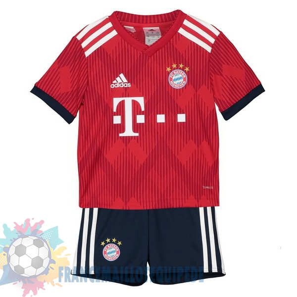 Magasin De Foot adidas Domicile Ensemble Enfant Bayern Munich 2018 2019 Rouge