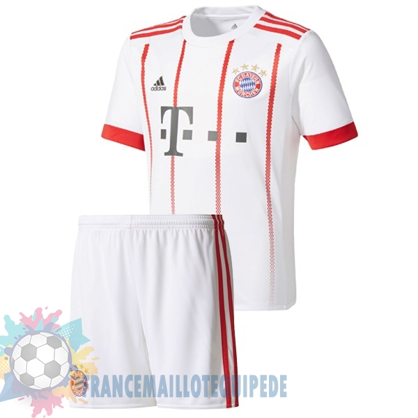 Magasin De Foot adidas Third Ensemble Enfant Bayern Munich 2017 2018 Blanc