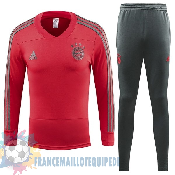 Magasin De Foot adidas Survêtements Enfant Bayern Munich 18-19 Rouge