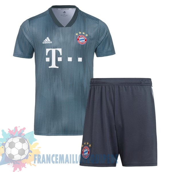 Magasin De Foot adidas Third Ensemble Enfant Bayern Munich 18-19 Gris