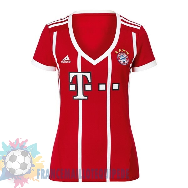 Magasin De Foot adidas Domicile Maillots Femme Bayern Munich 2017 2018 Rouge