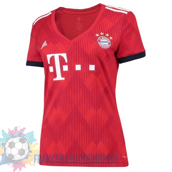 Magasin De Foot adidas Domicile Maillots Femme Bayern Munich 2018 2019 Rouge