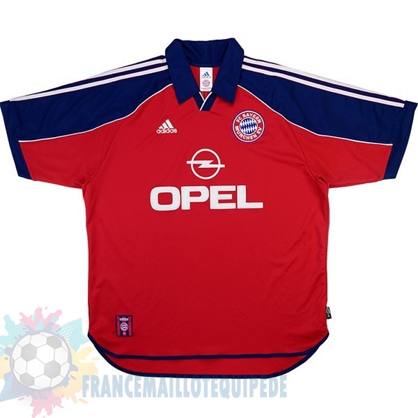 Magasin De Foot adidas Domicile Maillot Bayern Munich Retro 1999 2001 Rouge