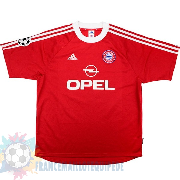 Magasin De Foot adidas Domicile Maillot Bayern Munich Retro 2001 2002 Rouge