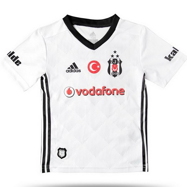 Magasin De Foot adidas Domicile Ensemble Enfant Besiktas JK 2017 2018 Blanc