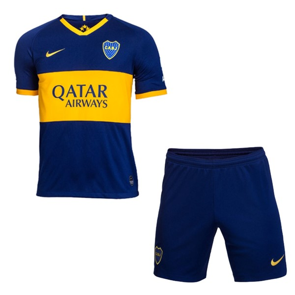 Magasin De Foot Nike Domicile Ensemble Enfant Boca Juniors 2019 2020 Bleu