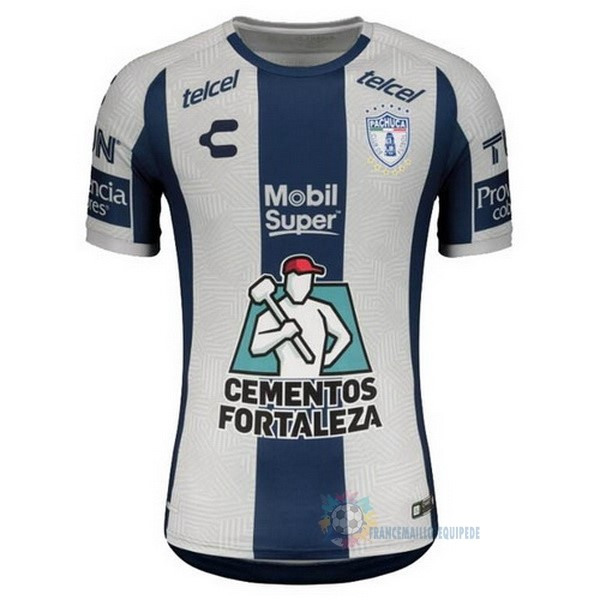 Magasin De Foot Tenis Charly Domicile Maillot Pachuca 2020 2021 Bleu Blanc