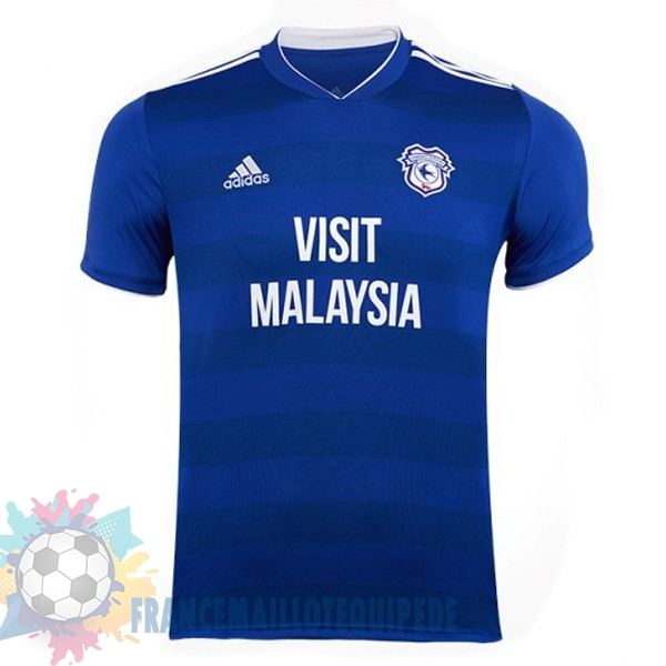 Magasin De Foot adidas Domicile Maillots Cardiff City 18-19 Bleu