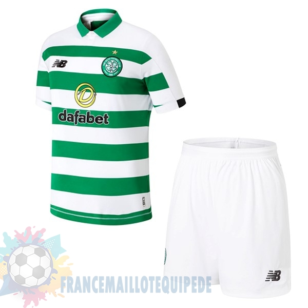 Magasin De Foot New Balance Domicile Ensemble Enfant Celtic 2019 2020 Vert