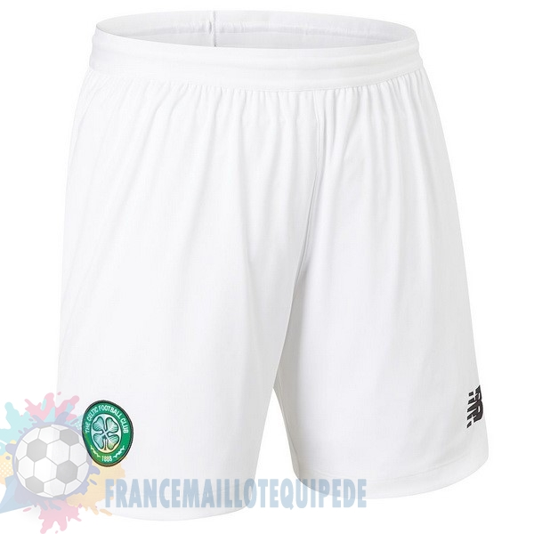 Magasin De Foot New Balance Domicile Pantalon Celtic 2019 2020 Blanc