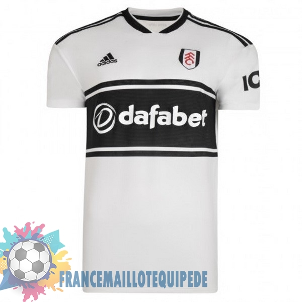 Magasin De Foot adidas Domicile Maillots Fulham 2018-2019 Blanc