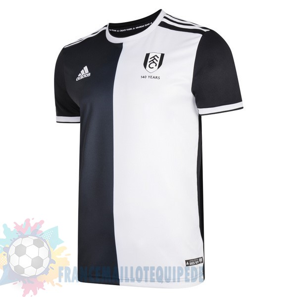 Magasin De Foot Adidas Maillot Fulham 140Th Noir Blanc
