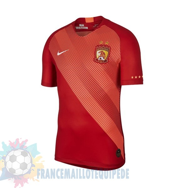 Magasin De Foot Nike DomiChili Maillot Evergrande 2019 2020 Rouge