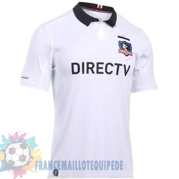 Magasin De Foot Under Armour Domicile Maillots Colo Colo 2017 2018 Blanc