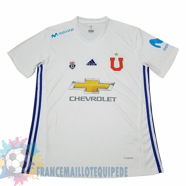 Magasin De Foot adidas Exterieur Maillots Universidad De Chile 2017 2018 Blanc