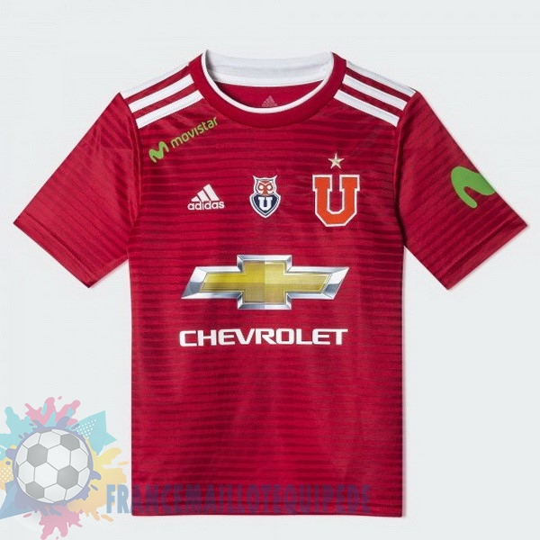 Magasin De Foot adidas Exterieur Maillots Universidad De Chile 2018-2019 Rouge