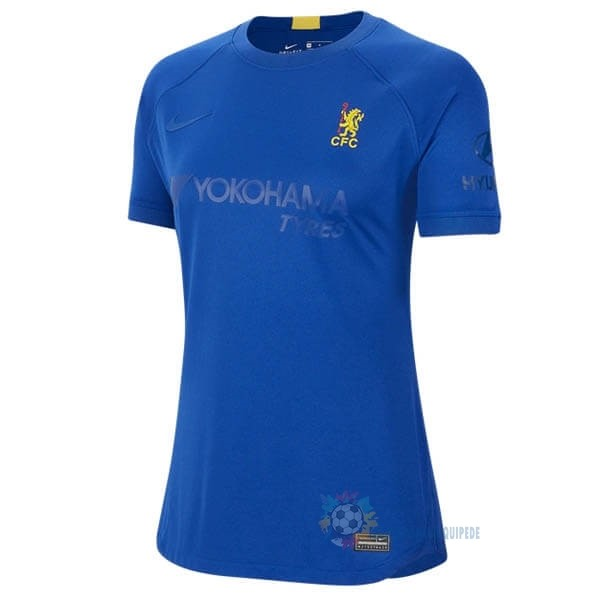 Magasin De Foot Nike Maillot Femme Chelsea 50th Bleu