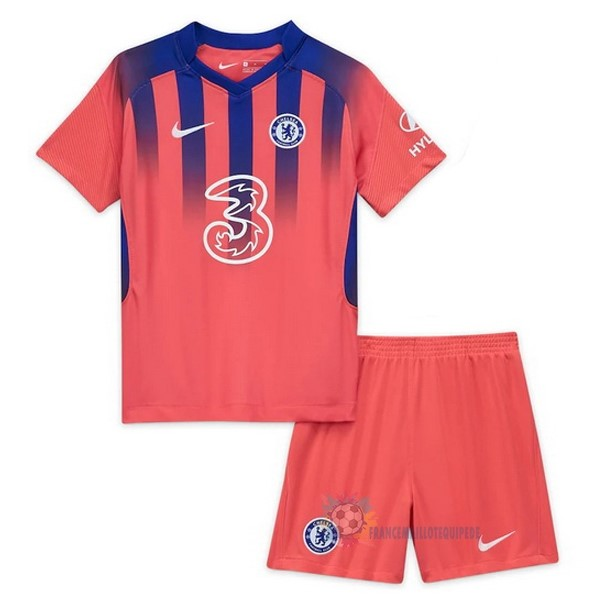 Magasin De Foot Nike Third Conjunto De Enfant Chelsea 2020 2021 Orange