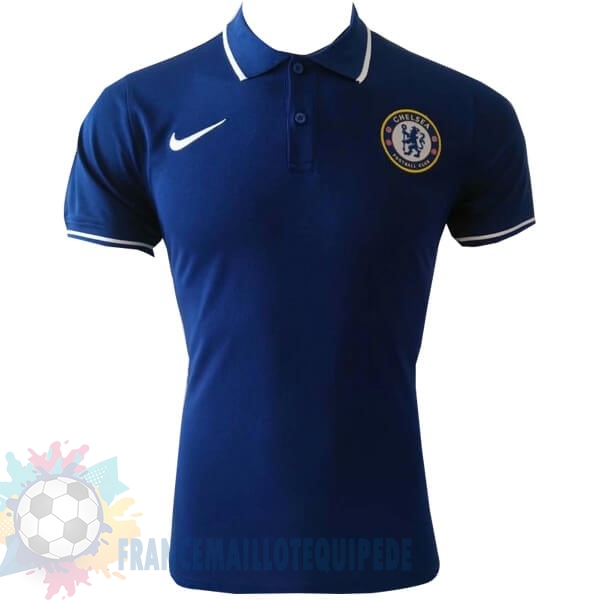 Magasin De Foot Nike Polo Chelsea 2019 2020 Bleu